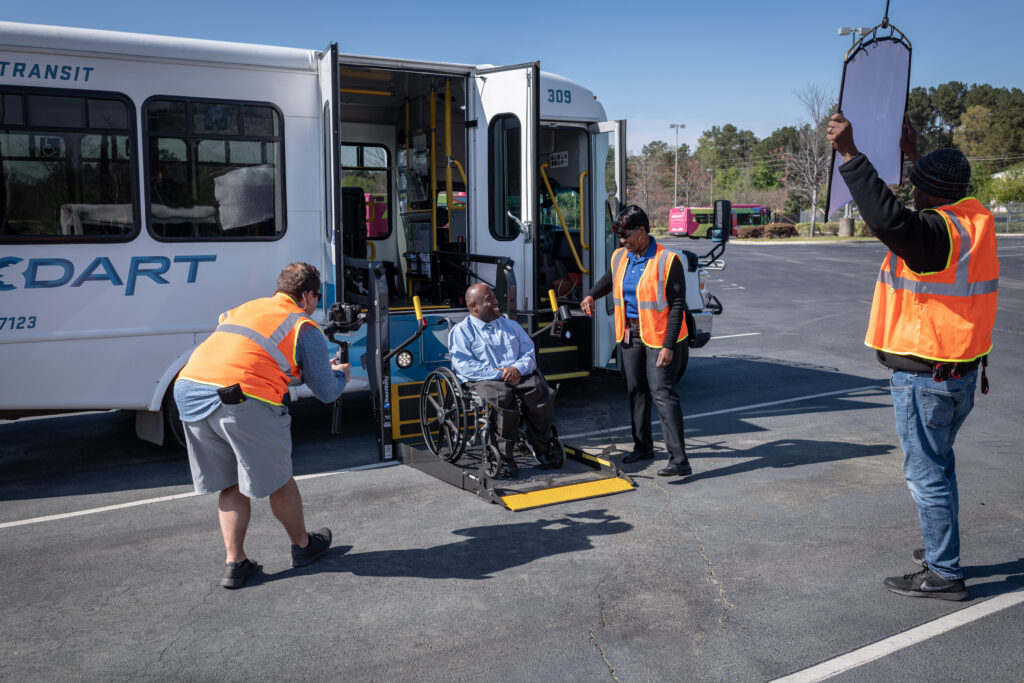 "ADA Paratransit ""How-To Ride"" Video Production"